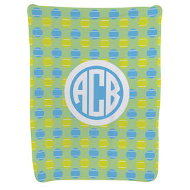 Tennis Baby Blanket - Tennis Pattern