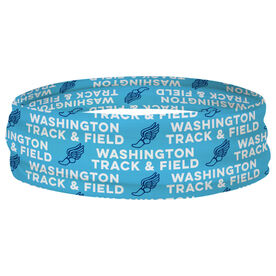 Track and Field Multifunctional Headwear - Custom Team Name Repeat RokBAND