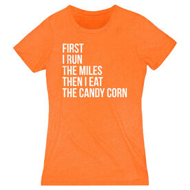 Women's Everyday Runners Tee - Then I Eat The Candy Corn