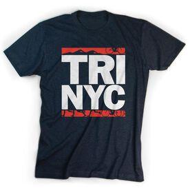 Triathlon Short Sleeve T-Shirt - Tri NYC
