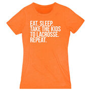 Lacrosse Women's Everyday Tee - Eat Sleep Take The Kids To Lacrosse