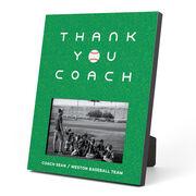 Baseball Photo Frame - Thank You Coach