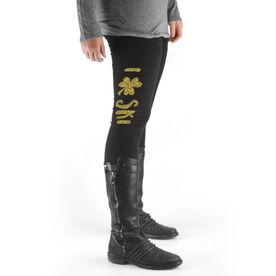 Skiing High Print Leggings I Shamrock Ski