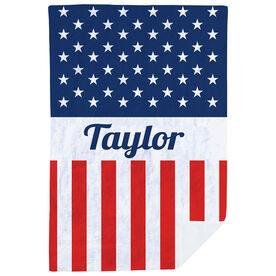 Personalized Premium Blanket - A Flag For You