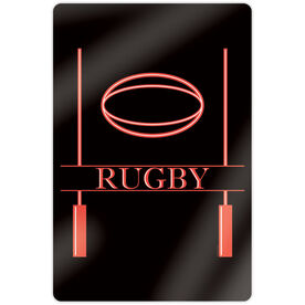 "Rugby 18"" X 12"" Aluminum Room Sign - Crest"
