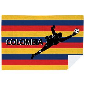 Soccer Premium Blanket - Colombia