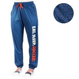 Soccer Lounge Pants - Eat Sleep Soccer