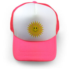 Softball Trucker Hat - Sunshine