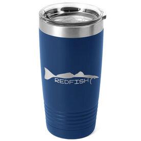 Fly Fishing 20 oz. Double Insulated Tumbler - Redfish