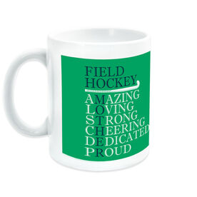 Field Hockey Coffee Mug - Mother Words