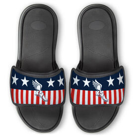 Track & Field Repwell™ Slide Sandals - Stars and Stripes