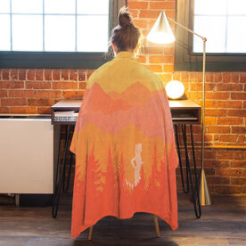 Running Premium Blanket - Mountain Call Female