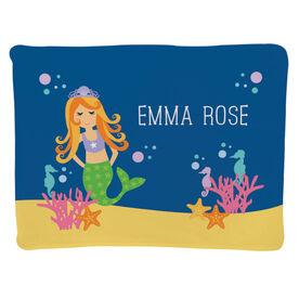 Personalized Baby Blanket - Mermaid
