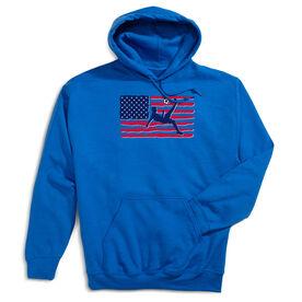 Soccer Hooded Sweatshirt - Guys Soccer Land That We Love