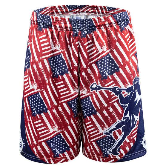 USA Lacrosse Shorts