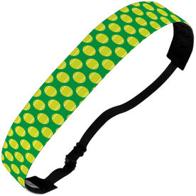 Tennis Julibands No-Slip Headbands - Tennis Ball Pattern
