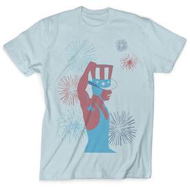 Vintage Wrestling T-Shirt - Patriotic Wrestler
