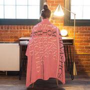 Gymnastics Premium Blanket - Mother Words (Girl Gymnast)