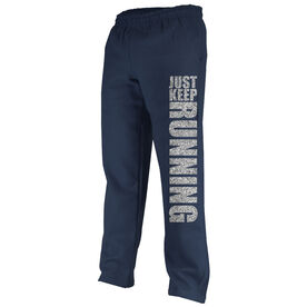 Running Fleece Sweatpants Just Keep Running