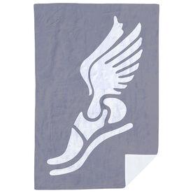 Track & Field Premium Blanket - Winged Foot