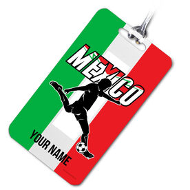 Soccer Bag/Luggage Tag Personalized Mexico Soccer