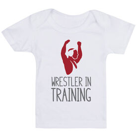 Wrestling Baby T-Shirt - Wrestler In Training