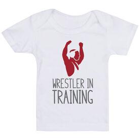 Wrestling Baby T-Shirt - Wrestler In Training