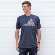 Running Short Sleeve T-Shirt - Virginia State Runner