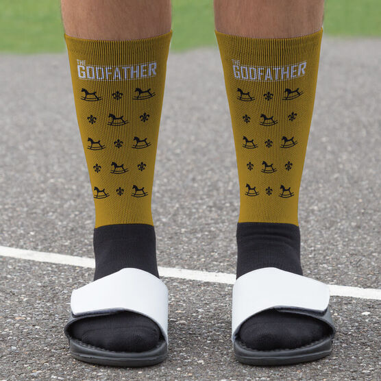 Personalized Printed Mid-Calf Socks - The GodFather