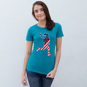 Girls Lacrosse Women's Everyday Tee - Play Lax for USA