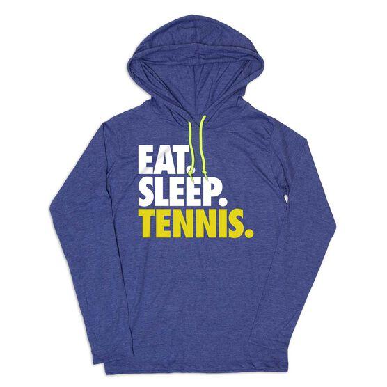 Men's Tennis Lightweight Hoodie - Eat Sleep Tennis