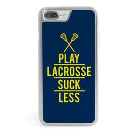 Lacrosse iPhone® Case - Play Lacrosse Suck Less