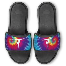 Gymnastics Repwell™ Slide Sandals - Tie Dye Silhouette