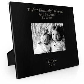 Personalized Engraved Picture Frame - Birth Announcement