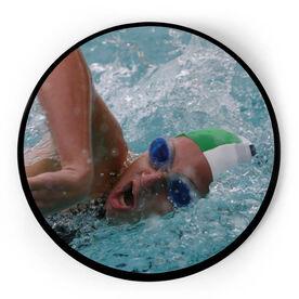 Swimming Circle Plaque - Custom Photo
