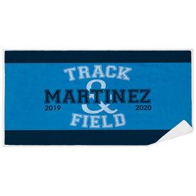 Track & Field Premium Beach Towel - Team