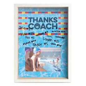 Swimming Premier Frame - Thanks Coach