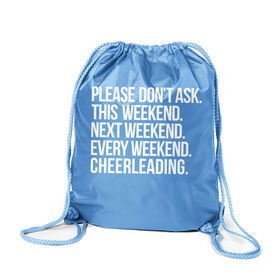 Cheerleading Sport Pack Cinch Sack - All Weekend Cheerleading