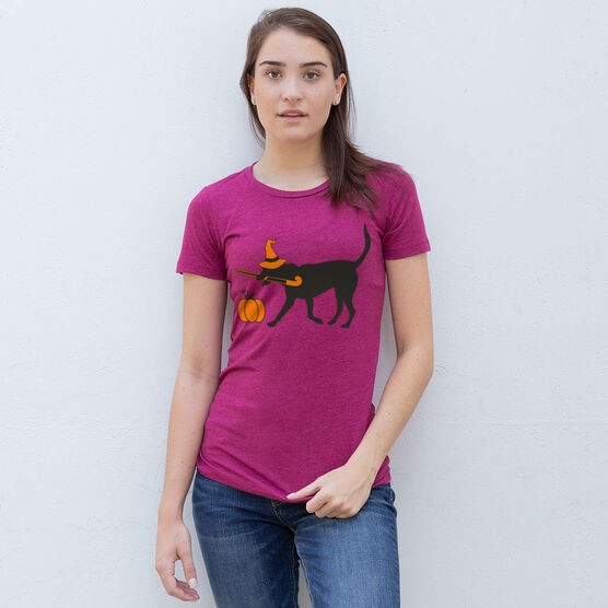 Field Hockey Women's Everyday Tee - Witch Dog