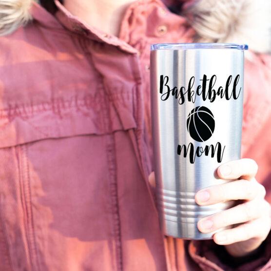Basketball 20oz. Double Insulated Tumbler - Basketball Mom