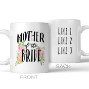 Mother of the Bride Personalized Coffee Mug