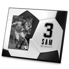 Soccer Photo Frame Personalized Soccer Ball