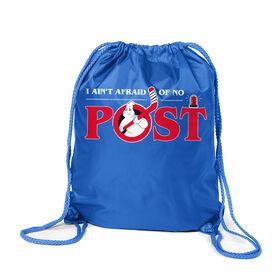 Hockey Sport Pack Cinch Sack - Ain't Afraid of No Post