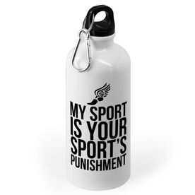Cross Country 20 oz. Stainless Steel Water Bottle - My Sport Is Your Sport's Punishment
