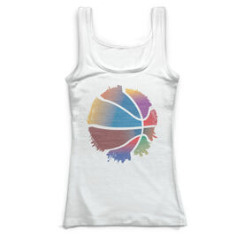 Basketball Vintage Fitted Tank Top - I'm Everywhere