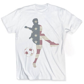 Vintage Soccer T-Shirt - Grand Old Kicker