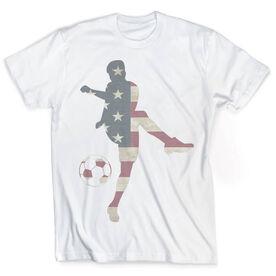 Vintage Soccer T-Shirt - Grand Old Kicker