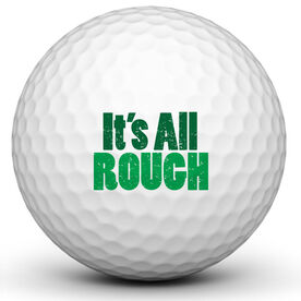 Its All Rough Golf Ball
