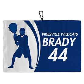 Lacrosse Bag Towels Personalized Goalie