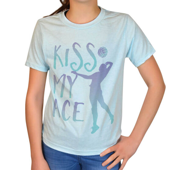 Vintage Volleyball T-Shirt - Kiss My Ace